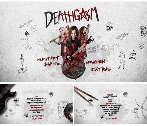 """11/2015 """"Deathgasm"""" . Horror/Komödie . Neuseeland . 2015"""