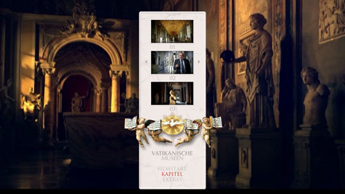 """02/2016 """"Vatikanische Museen"""" . Dokumentation . Italien/GB . 2014"""