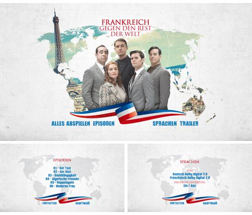 """02/2016 """"Frankreich gegen den Rest der Welt"""" . TV-Serie . Frankreich . 2015"""