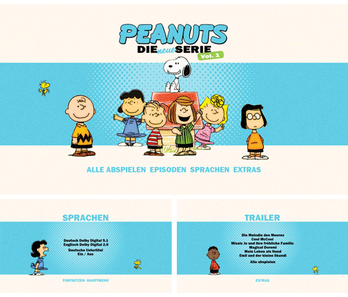 "03/2016 ""Peanuts"" . Animation . Serie . Frankreich . 2014"