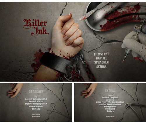 "05/2016 ""Killer Ink"" . Horror . USA . 2015"