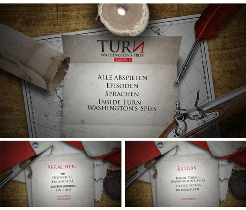 "05/2016 ""Turn: Washington's Spies – Staffel 2″ . TV-Serie . USA . 2014"