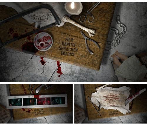 "07/2016 ""The Blackburn Asylum"" . Horror"