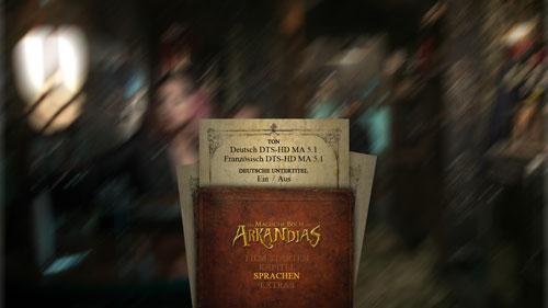"""08/2016 """"Das magische Buch von Arkandias"""" . Abenteuer. Frankreich . 2014"""