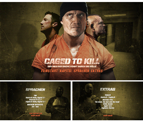 "09/2016 ""Caged to Kill"" . Action . USA . 2015"