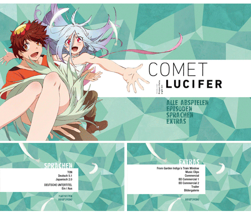 "09/2016 ""Comet Lucifer"" . Anime . TV-Serie . Japan . 2015"