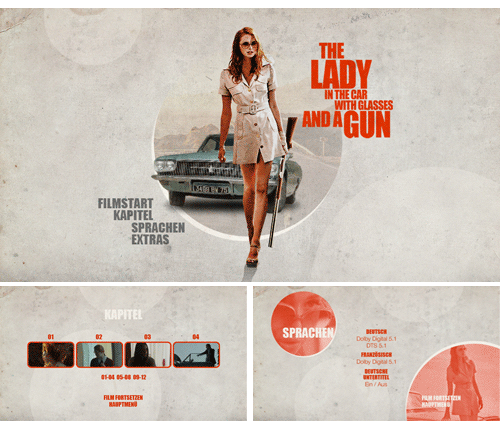 """10/2016 """"A Woman in the Car with Glasses and a Gun """" . Thriller . Frankreich / Belgien . 2015"""