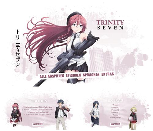 "12/2016 ""Trinity Seven"" . Anime . Serie . Japan . 2014"