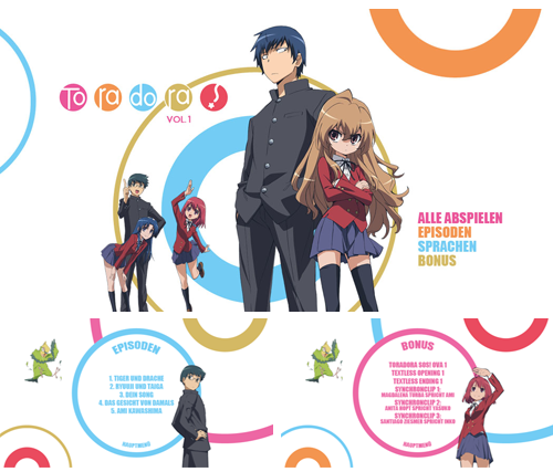 05/2017 Toradora . Anime . Japan