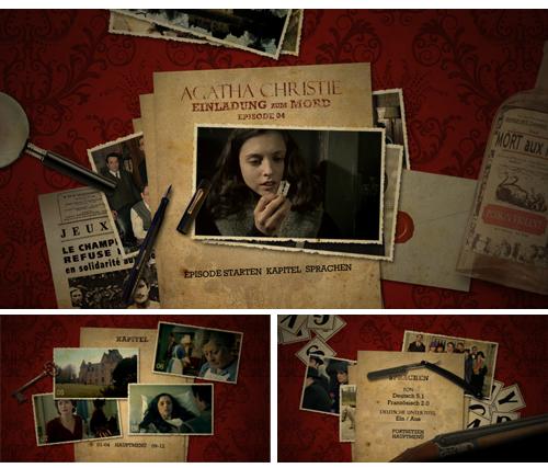 08/2017 Agatha Christie – Einladung zum Mord . Komödie/Krimi . TV-Serie . Frankreich