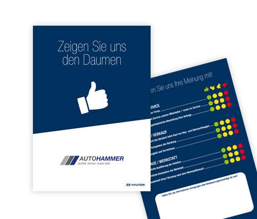 10/2017 Flyer . Kundenbewertung
