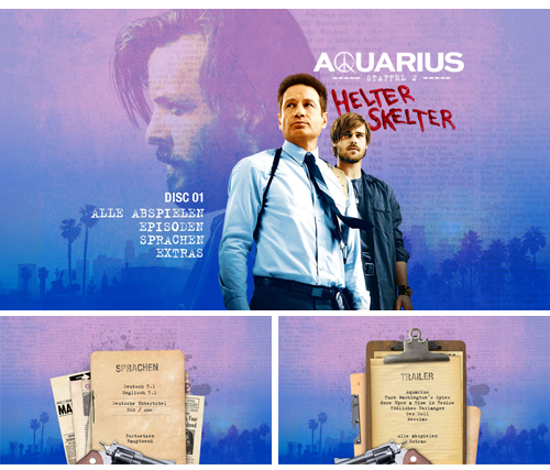 11/2017 Aquarius – Staffel 2 . TV Serie . USA