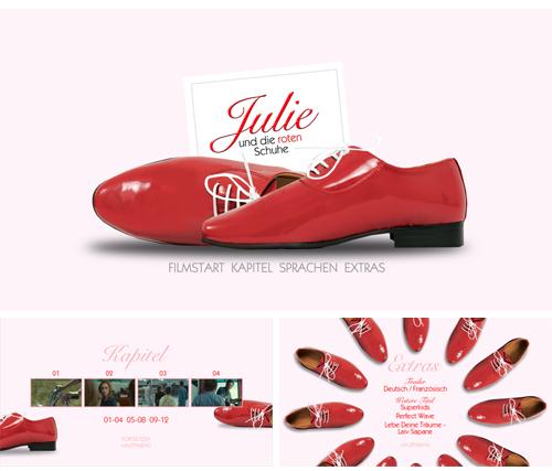 03/2018 Julie und die roten Schuhe